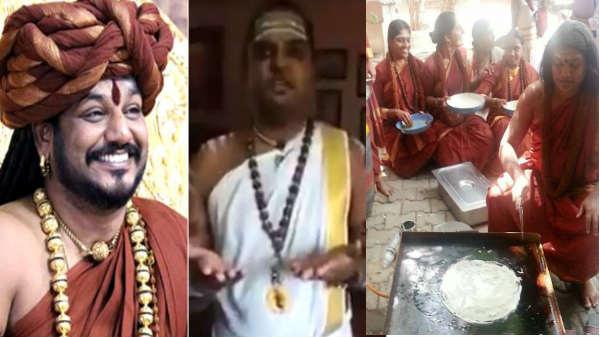 வெஜ்ஸூம் செஞ்சார் வெச்சும் செஞ்சார்! ஹர ஹர நித்தியானந்தா கீ