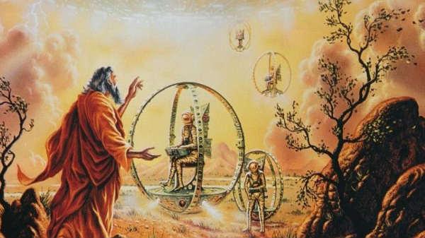 பைபிளில் கூறப்படும் எசேக்கியேல் சக்கரமும், ஏலியன்களின் யூஎப்ஓ'க்களும்!