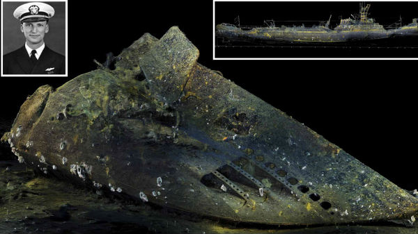 இரண்டாம் உலகப்போரில் மூழ்கிய நீர்மூழ்கிகப்பல் 80 ஆண்டுகளுக்கு பிறகு கண்டுபிடிப்பு!