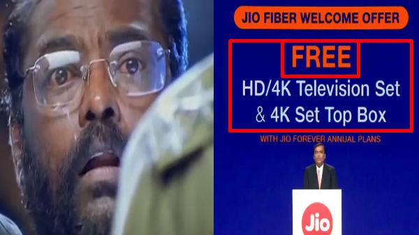 4K LED டிவி மற்றும் 4K செட்டப் பாக்ஸை இலவசமாக வழங்கும் ஜியோ!