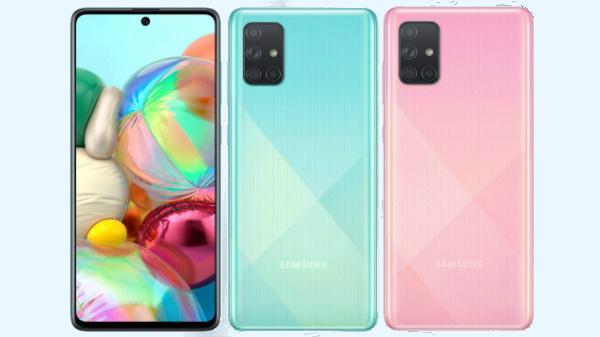 Samsung Galaxy A71 ஸ்மார்ட்போன் மாடல் அறிமுகம்: விலை இவ்வளவு தான்.!