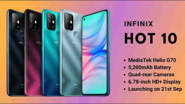 Infinix Hot 10 இந்தியாவில் வரும் அக்டோபர் 4ல் அறிமுகமா? விலை என்னவாக இருக்கும்?