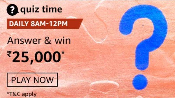 ரூ.25,000  pay Balance இலவசம்: ஜனவரி 15 அமேசான் குவிஸ் பதில்கள்!