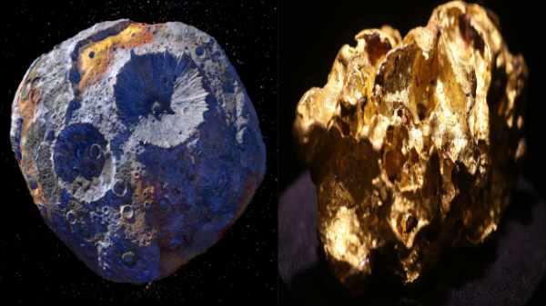 1,000,000,000,000,000 டாலர் மதிப்புடைய தங்க சிறுகோள் மீது NASA ஆராய்ச்சி.. விண்வெளியில் இப்படி ஒரு சுரங்கமா?