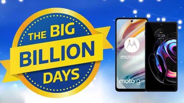 Flipkart Big Billion Days Sale 2021: மோட்டோ ஸ்மார்ட்போன்களுக்கு சூப்பர் சலுகை.!