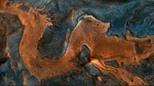 NASA செவ்வாய்யில் கண்டுபிடித்த அறிய டிராகன் படம்! ஆர்பிட்டர் படங்கள்