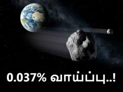 'பென்னு' : பூமியோடு மோதல் நிகழ்த்த 0.037% வாய்ப்பு உள்ளது..!