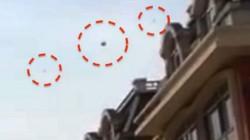 சீனாவில்  வேகமாக 3 ஸ்பேஸ்ஷிப்பில் பறந்த ஏலியன்கள்: பெரும் அதிர்ச்சியில் மக்கள்.!