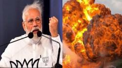 கடந்த 5ஆண்டு ஆட்சியில் நாட்டில் எங்கும் குண்டுவெடிப்புகள் நிகழ்வில்லை.! குஜராத்தில் மோடி அதிரடி.!
