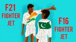 பாகிஸ்தான் எப்16 வச்சு அங்கிட்டு போய் விளையாடு-தில்லான இந்தியா.!