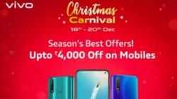 Vivo Christmas Carnival:விவோ ஸ்மார்ட்போன்களுக்கு அதிரடி விலைகுறைப்பு.!