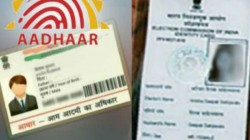Aadhaar Link With Voter Id Law Ministry Approves