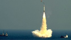 India Successfully Second Test Fires K4 Submarine Nuclear Capable Missile