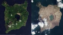 NASA வெளியிட்ட டால் எரிமலையின் நம்பமுடியாத புகைபடங்கள்!தீவே நிலவின் மேற்பரப்பு போல் மாறியது எப்படி?