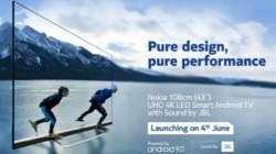 Nokia 43' இன்ச் ஸ்மார்ட் டிவி இந்தியாவில் அறிமுகம்! விலை என்ன தெரியுமா?