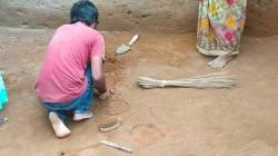 கீழடி: 2000 ஆண்டுக்கு முன்னர் கட்டுமானத்திற்காக பயன்படுத்திய வட்ட வடிவ துளைகள் கண்டுபிடிப்பு!